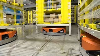 Inside Amazon's robot warehouses