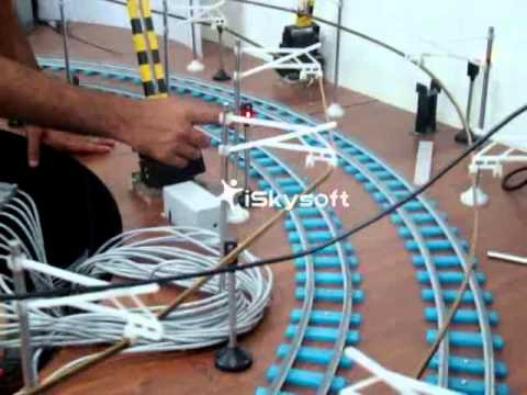 Rail Signalling Working Model - I