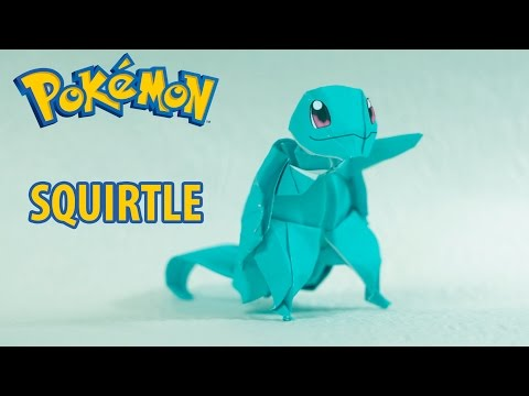Vdyoutube Download Video Paper Pokemon Origami Squirtle