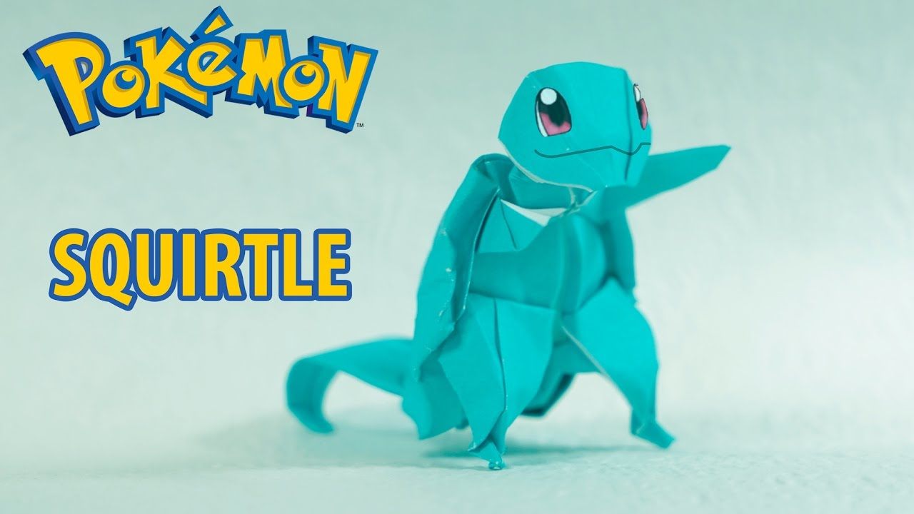 Origami Squirtle 29