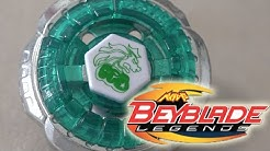 Rock Leone 145WB Beyblade LEGENDS (BB-30) Unboxing & Review! - Beyblade Metal Fight