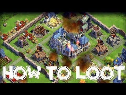 DomiNations Android/iOS Game BEST LOOT, RAID, ATTACK, ARMY BUILD STRATEGY GUIDE!