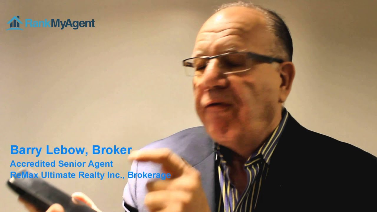 RankMyAgent.com Profile: Barry Lebow - Accredited Senior Agent