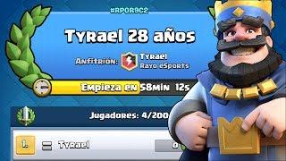 Torneo Tyrael 28 Cumpleaños (2000 GEMAZAS!) | Clash Royale