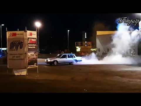 Tuned Volvo 740 Almost Flips During Drifting!