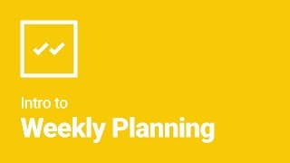How to Write a Status Report? Weekly Planning with Weekdone