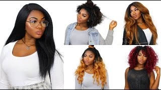 Outre Wigs Lookbook  | Back to School | Cheap and Affordable Wigs
