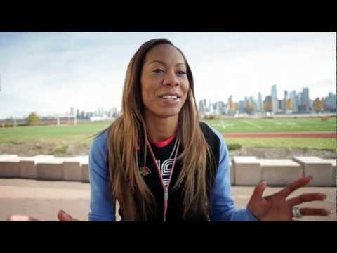 A Day in the Life: Sanya Richards-Ross - YouTube