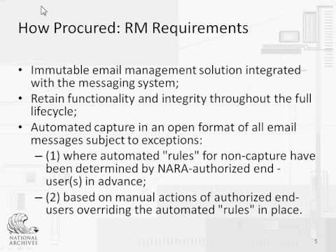 Capstone Email Management Implementation: Technical Perspective