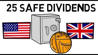 25 High Yield Safe Dividend Paying Companies in 2020 Recession!