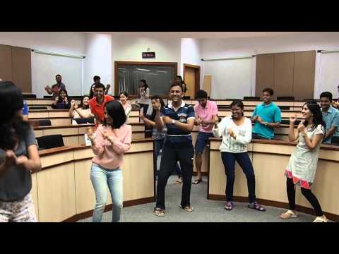 Shad Morris on the Gangnam Style at ISB, Hyderabad.