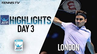 Highlights: Federer Toughs Out Zverev In London Nitto ATP Finals 2017