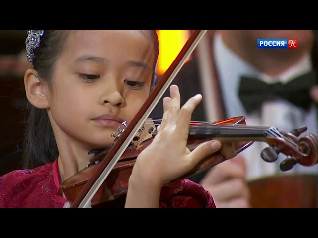 Н. Паганини Концерт для скрипки - НФОР под управлением В.Спивакова, соло Й.Химари (скрипка), Япония
