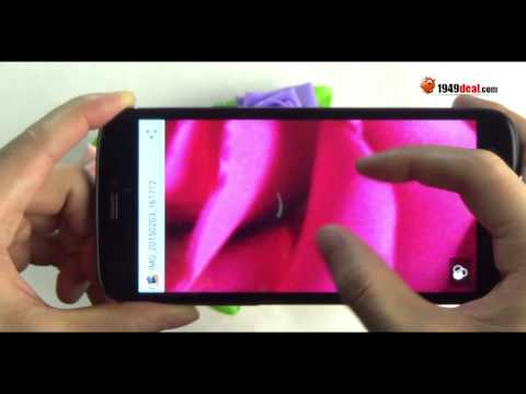 Maxon MX3 unboxing, antutu, GPS, Camera, battery review from 1949deal