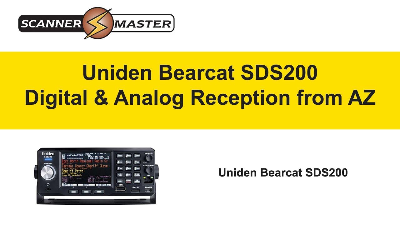 Uniden Bearcat SDS200 Police Scanner