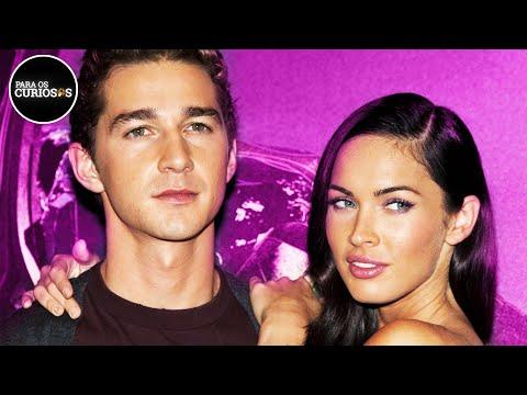 Tudo Sobre o ROMANCE SECRETO de Megan Fox & Shia LaBeouf de TRANSFORMERS