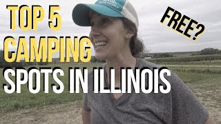 TOP 5 CAMPING AΝD BOONDOCKING SPOTS IN ILLINOIS / RV LIFE