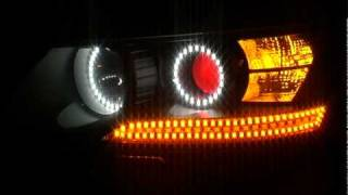 Hyundai Sonata NF LED tuning headlights