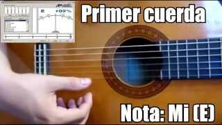 Afinador de guitarra acústica/Guitar tuner Gratis/Free/Online