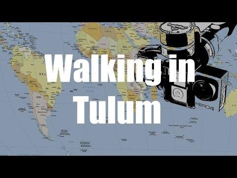 Walking in Tulum, Mexico | GoPro 4 Silver | Virtual Trip