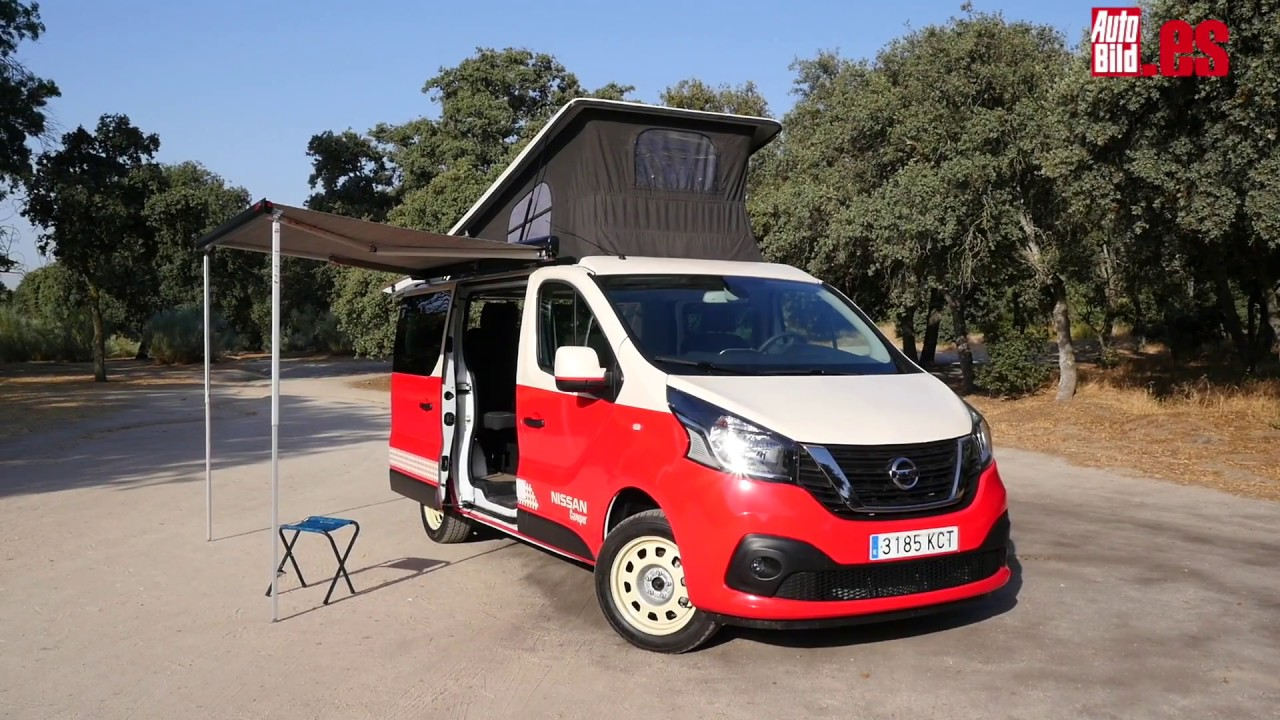 prueba a fondo nissan nv300 camper review test youtube. Black Bedroom Furniture Sets. Home Design Ideas