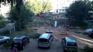 поселок Тимашево детская площадка  по ул Розы-Люксембург 1