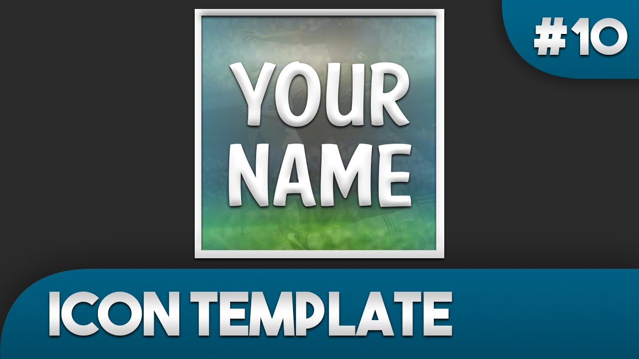 FIFA YouTube Icon Template 10 - Free Photoshop Download - YouTube