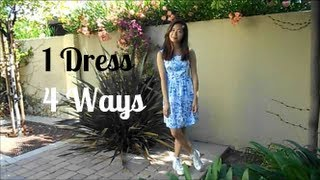 4 Ways to Style a Patterned Dress