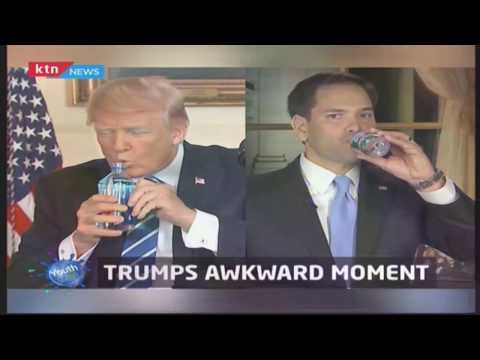 Youth Cafe: Trump's awkward moment