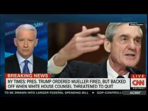 Trump Ordered Mueller Fired, but Backed Off When White House Counsel Threatened to Quit NYT scoop