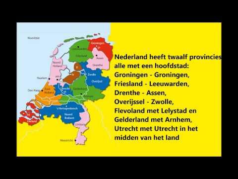 Provincielied - Nederland heeft 12 provincies