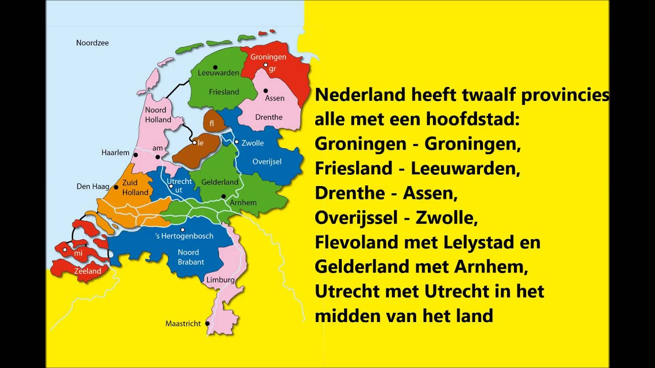 provincielied nederland heeft 12 provincies