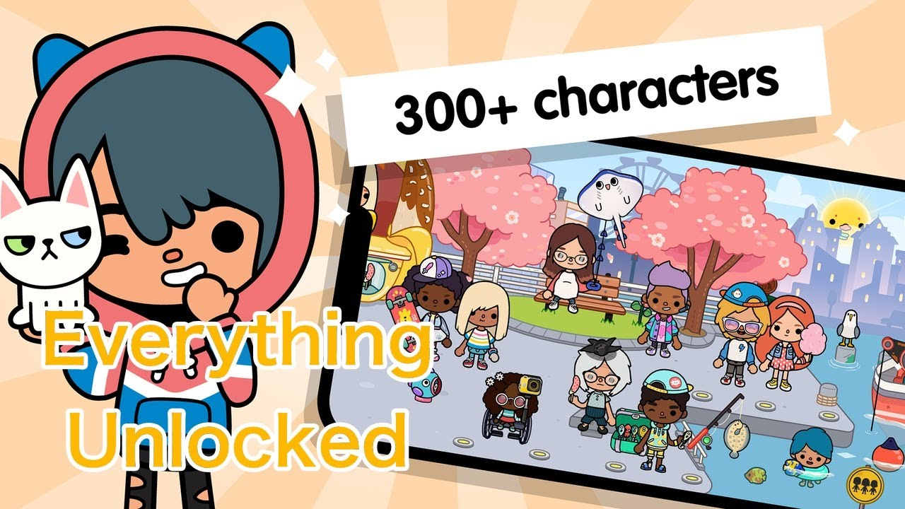 FREE! Toca Life World with Everything Unlocked on iOS 9 iPhone