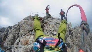 Extreme спорт Роупджампинг: Прыжки Rock&Rope с Ай-Петри