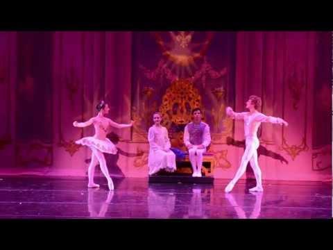 Orlando Ballet - The Nutcracker - Sugar Plum Fairy and her Cavalier Melissa Gelfin and Douglas Horne