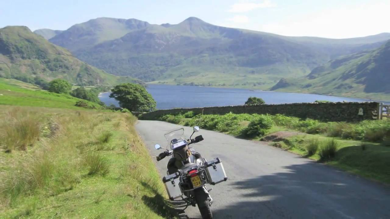 Solo Scotland Motorcycle tour (3000 km on small roads) on BMW R 1200 GSa