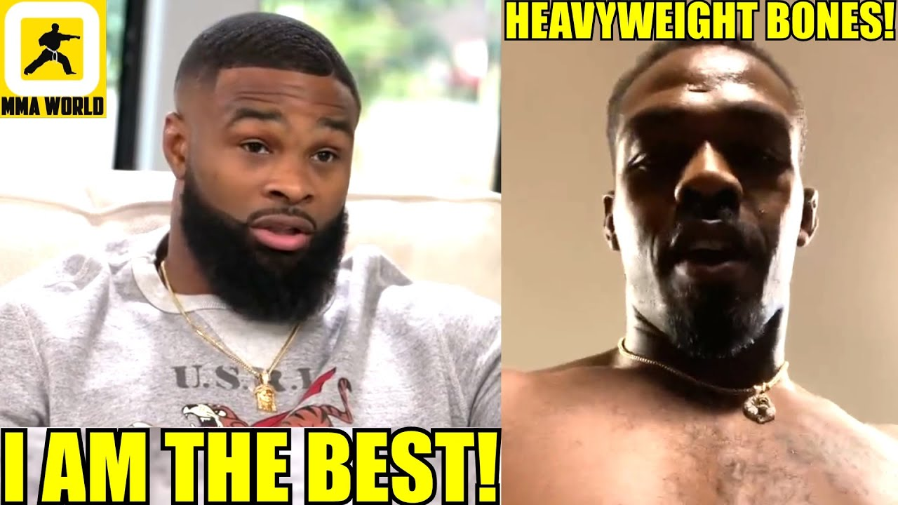 I am the BEST Welterweight in the world and I got to show that against Colby Covington,HW Jon Jones!