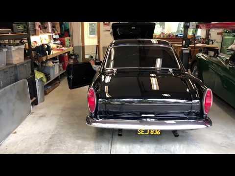 Restored 1965 Sunbeam Tiger MK I 5-Speed
