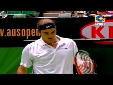 50FPS Federer - Chang  Australian Open 2002