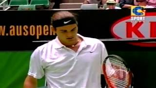 Australian Open 2002 Roger Federer - Michael Chang