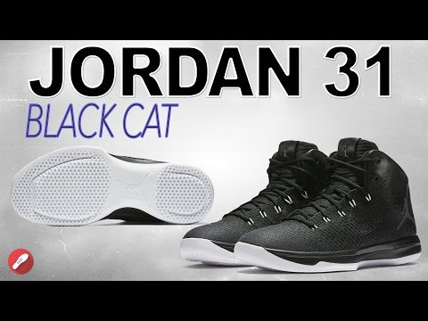 Jordan 31 Black Cat Review! Is The Traction Fixed??