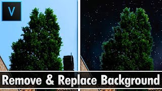 Vegas Pro 15: How To Remove Any Background And Replace It (Video) - Tutorial #316