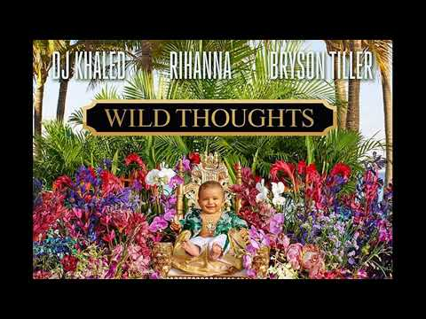 DJ Khaled ft Rihanna and Bryson Tiller - Wild Thoughts (Official Instrumental)