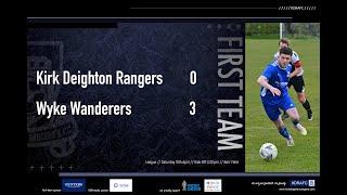 Wyke Wanderers Match Highlights