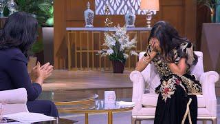 مغنية مغربية تدخل في نوبة بكاء بسبب حلا الترك... وتكشف سر كونها زوجة الأب (فيديو)