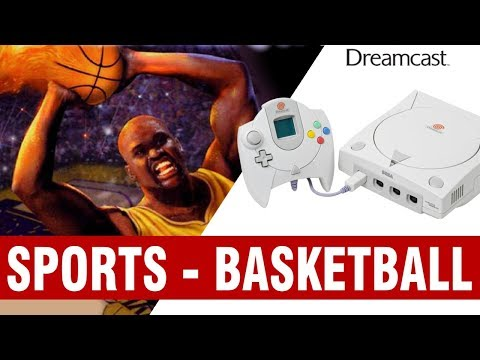 All Dreamcast Sports Basketball Games Compilation - Every Game (US/EU/JP)