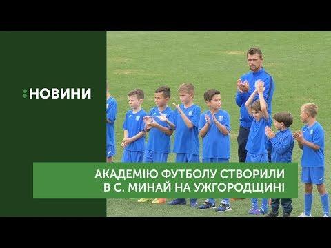 Академію футболу створили в с.Минай