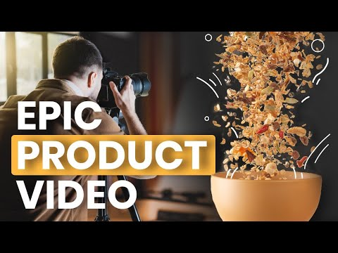 How to make an epic PRODUCT VIDEO at home: Full tutorial WITH FREE TEMPLATE