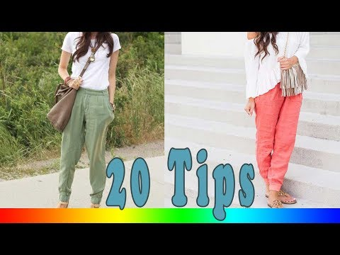 20 Style Tips On How To Wear Linen Pants This Summer