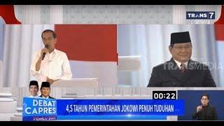 Prabowo-Jokowi Curhat Soal Fitnah | DEBAT CAPRES KE-4